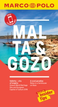 Malta and Gozo Marco Polo Pocket Travel Guide - with pull out map, Paperback / softback Book