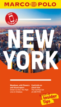 New York Marco Polo Pocket Travel Guide 2018 - with pull out map, Paperback Book