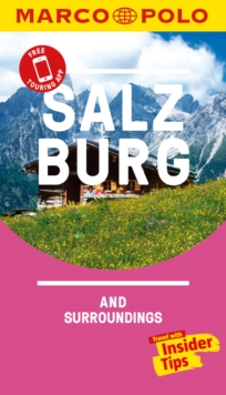Salzburg Marco Polo Pocket Travel Guide 2018 - with pull out map, Paperback Book