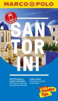 Santorini Marco Polo Pocket Guide, Paperback Book