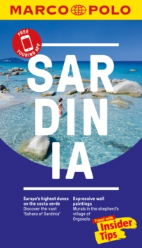Sardinia Marco Polo Pocket Travel Guide 2018 - with pull out map, Paperback Book