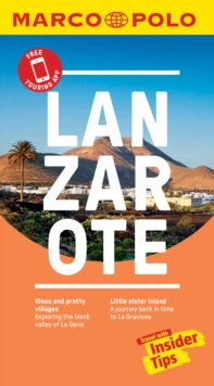 Lanzarote Marco Polo Pocket Travel Guide 2018 - with pull out map, Paperback Book