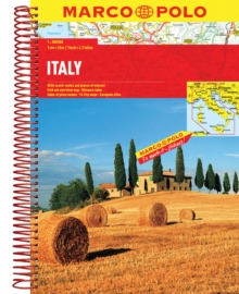 Italy Atlas, Spiral bound Book