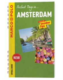 Amsterdam Marco Polo Travel Guide - with pull out map, Spiral bound Book