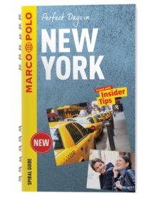 New York Marco Polo Travel Guide - with pull out map, Spiral bound Book