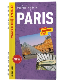 Paris Marco Polo Travel Guide - with pull out map, Spiral bound Book