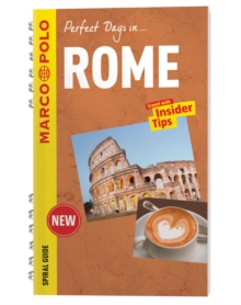 Rome Marco Polo Travel Guide - with pull out map, Spiral bound Book