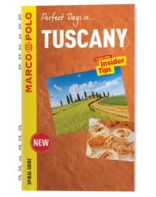 Tuscany Marco Polo Travel Guide - with pull out map, Spiral bound Book