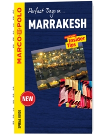 Marrakesh Marco Polo Travel Guide - with pull out map, Mixed media product Book