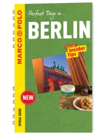 Berlin Marco Polo Travel Guide - with pull out map, Spiral bound Book