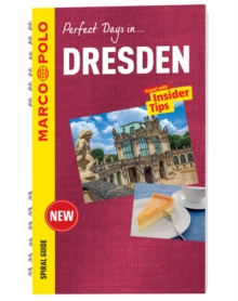 Dresden Marco Polo Travel Guide - with pull out map, Spiral bound Book