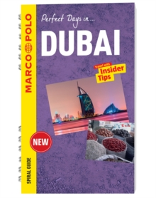 Dubai Marco Polo Travel Guide - with pull out map, Spiral bound Book