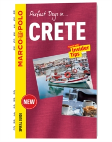 Crete Marco Polo Travel Guide - with pull out map, Spiral bound Book