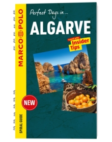 Algarve Marco Polo Travel Guide - with pull out map, Spiral bound Book