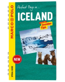 Iceland Marco Polo Travel Guide - with pull out map, Spiral bound Book