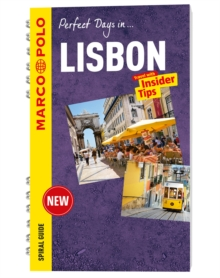 Lisbon Marco Polo Travel Guide - with pull out map, Spiral bound Book