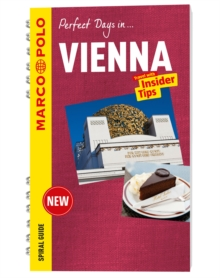 Vienna Marco Polo Travel Guide - with pull out map, Spiral bound Book