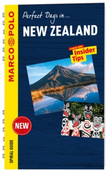 New Zealand Marco Polo Travel Guide - with pull out map, Spiral bound Book