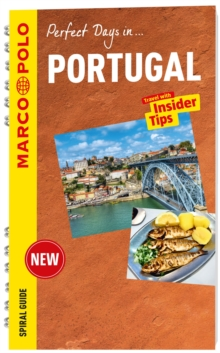 Portugal Marco Polo Travel Guide - with pull out map, Spiral bound Book