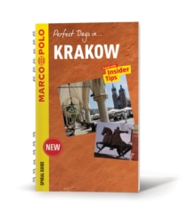 Krakow Marco Polo Travel Guide - with pull out map, Paperback Book
