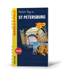 St Petersburg Marco Polo Spiral Guide, Paperback Book