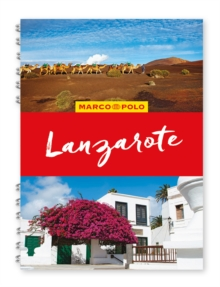 Lanzarote Marco Polo Travel Guide - with pull out map, Spiral bound Book