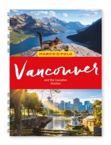Vancouver & the Canadian Rockies Marco Polo Travel Guide - with pull out map, Spiral bound Book