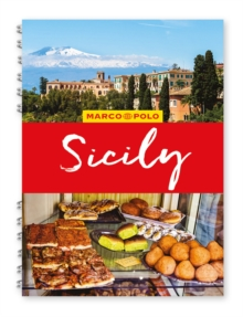 Sicily Marco Polo Travel Guide - with pull out map, Spiral bound Book