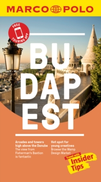 Budapest Marco Polo Pocket Travel Guide 2019 - with pull out map, Paperback / softback Book