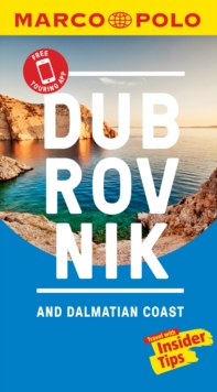 Dubrovnik & Dalmatian Coast Marco Polo Pocket Travel Guide 2019 - with pull out map, Paperback / softback Book