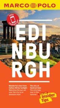 Edinburgh Marco Polo Pocket Travel Guide 2019 - with pull out map, Paperback / softback Book