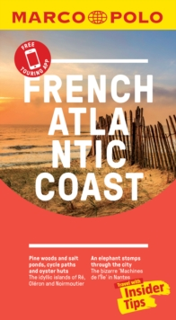 French Atlantic Coast Marco Polo Pocket Travel Guide 2019 - with pull out map : Biarritz, Bordeaux, La Rochelle, Nantes, Paperback / softback Book