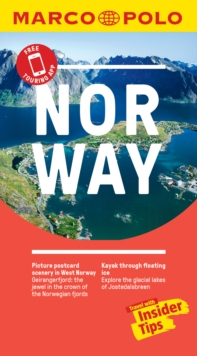 Norway Marco Polo Pocket Travel Guide 2019 - with pull out map, Paperback / softback Book