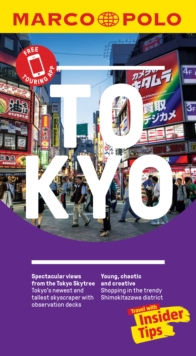 Tokyo Marco Polo Pocket Travel Guide 2019 - with pull out map, Paperback / softback Book