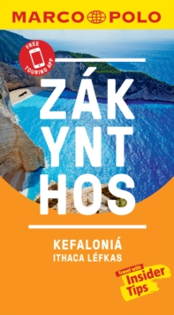 Zakynthos and Kefalonia Marco Polo Pocket Travel Guide 2019 - with pull out map : Includes Ithaca and Lefkas, Paperback / softback Book