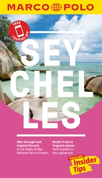 Seychelles Marco Polo Pocket Travel Guide 2019 - with pull out map, Paperback / softback Book