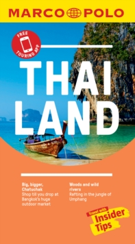 Thailand Marco Polo Pocket Travel Guide 2019 - with pull out map, Paperback / softback Book