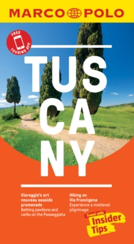 Tuscany Marco Polo Pocket Travel Guide 2019 - with pull out map, Paperback / softback Book