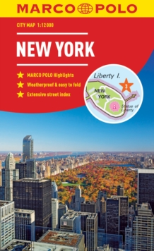 New York Marco Polo City Map 2018 - pocket size, easy fold, New York street map, Paperback / softback Book