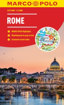 Rome Marco Polo City Map 2018 - pocket size, easy fold, Rome street map, Paperback / softback Book