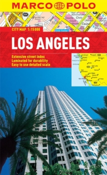 Los Angeles Marco Polo City Map, Sheet map, folded Book