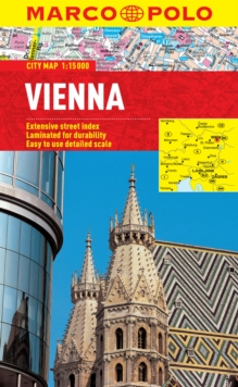 Vienna City Map, Sheet map, folded Book