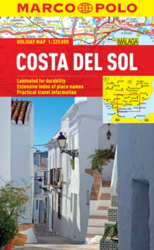 Costa Del Sol Marco Polo Holiday Map, Sheet map, folded Book