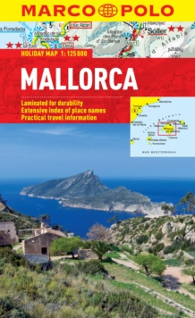 Mallorca Marco Polo Holiday Map, Sheet map, folded Book