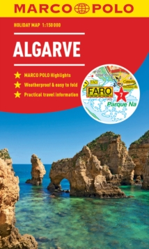 Algarve Marco Polo Holiday Map, Sheet map, folded Book