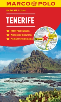 Tenerife Marco Polo Holiday Map 2019 - pocket size, easy fold Tenerife map, Sheet map, folded Book
