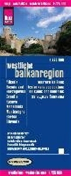 Western Balkans Region : REISE.0420, Sheet map, folded Book