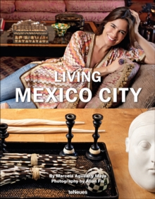 Living Mexico City, Hardback Book
