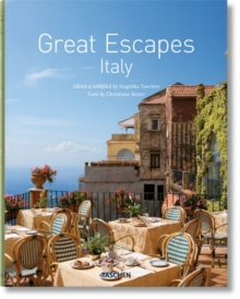 Great Escapes Italy, Hardback Book