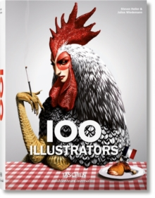 100 Illustrators, Hardback Book